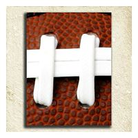 ''Football'' Alphabet Wall Art