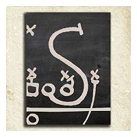 ''Football'' Alphabet Wall Art