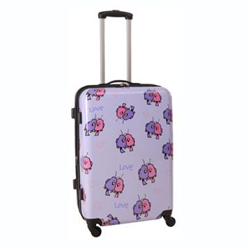 Ed Heck Love Birds 25-Inch Hardside Spinner Luggage
