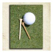 ''Golf'' Alphabet Wall Art