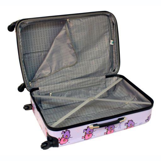 Ed Heck Love Birds 28-Inch Hardside Spinner Luggage