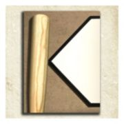''Baseball'' Alphabet Wall Art