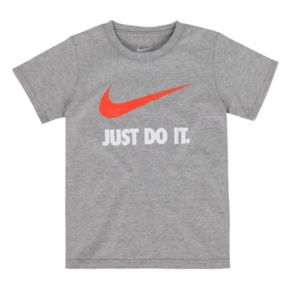 "Boys 4-7 Nike ""Just Do It"" Tee"