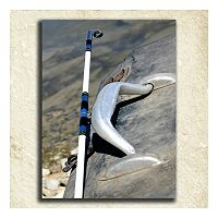 ''Fishing'' Alphabet Wall Art