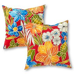 Greendale Home Fashions 2 pc Outdoor Throw Pillow Set