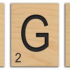 ''Game Tile'' Alphabet Wall Art