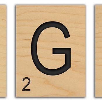 Game Tile\'\' Alphabet Wall Art