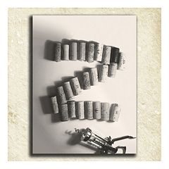 ''Wine'' Alphabet Wall Art