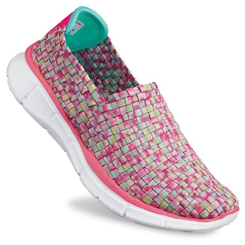 cd44b067af1b Skechers Equalizer Vivid Dream Women s Stretch Weave Slip-On Walking Shoes