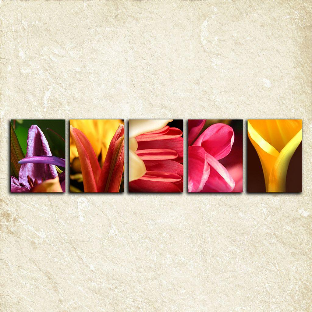 ''Flower'' Alphabet Wall Art