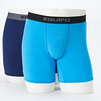 Men's equipo 2-pack Solid Modal Boxer Briefs