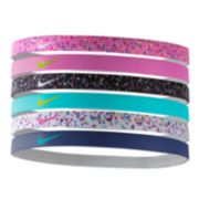 Nike 6-pk. Printed Stretch Headbands