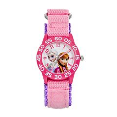 Disney's Frozen Anna & Elsa Kids' Time Teacher Watch