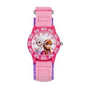 Disney's Frozen Anna & Elsa Kids' Time Teacher Watch