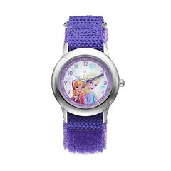 Disney's Frozen Elsa & Anna Kids' Time Teacher Watch