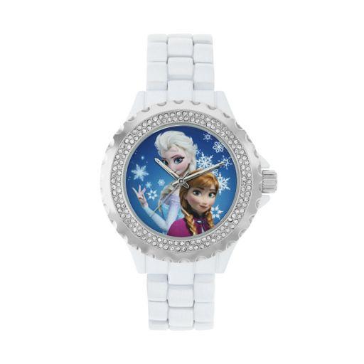 Disney's Frozen Anna & Elsa Women's Crystal Watch