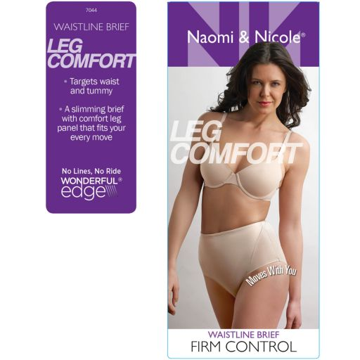 Naomi & Nicole Leg Comfort Waistline Shaping Brief 7044