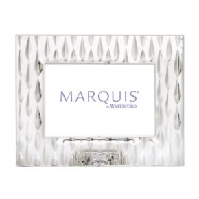 Marquis by Waterford Rainfall 4'' x 6'' Crystal Frame