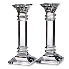 Marquis by Waterford 8 in Crystal Treviso Candlestick Set