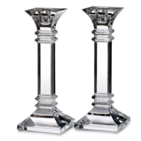 Marquis by Waterford 8-in. Crystal Treviso Candlestick Set