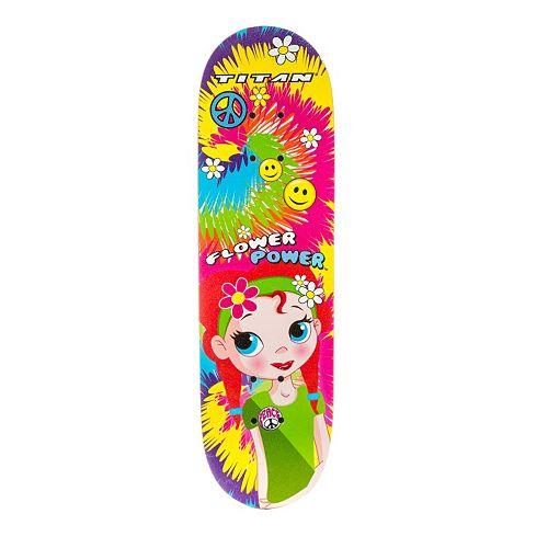 Titan Girl Power 28-in. Cruising Skateboard