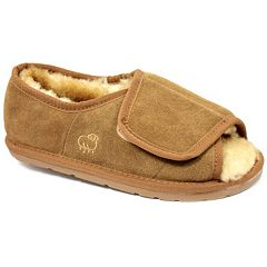 LAMO Men's Suede Wrap Slippers