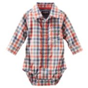 OshKosh B'gosh® Woven Bodysuit - Baby Boy