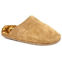 LAMO Men's Suede Scuff Slippers