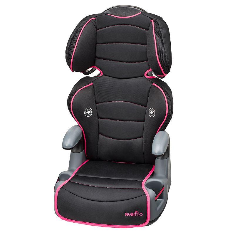 Evenflo Big Kid Amp High Back Booster Car Seat Installation
