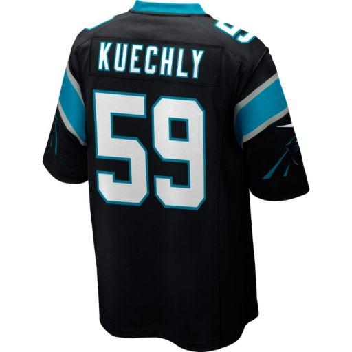 Men's Nike Carolina Panthers Luke Kuechly NFL Replica Jersey