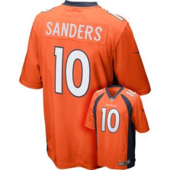 Men's Nike Denver Broncos Emmanuel Sanders Game NFL Replica Jersey