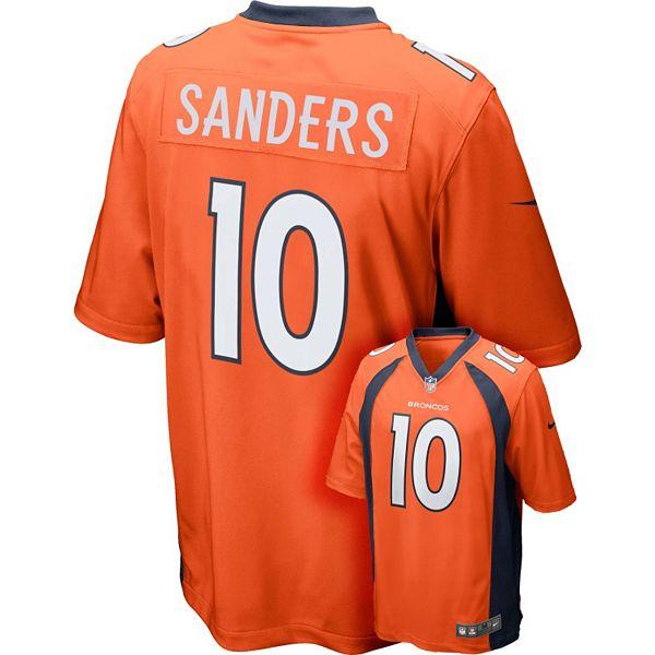 Men's Nike Denver Broncos Emmanuel Sanders Game NFL Replica ...