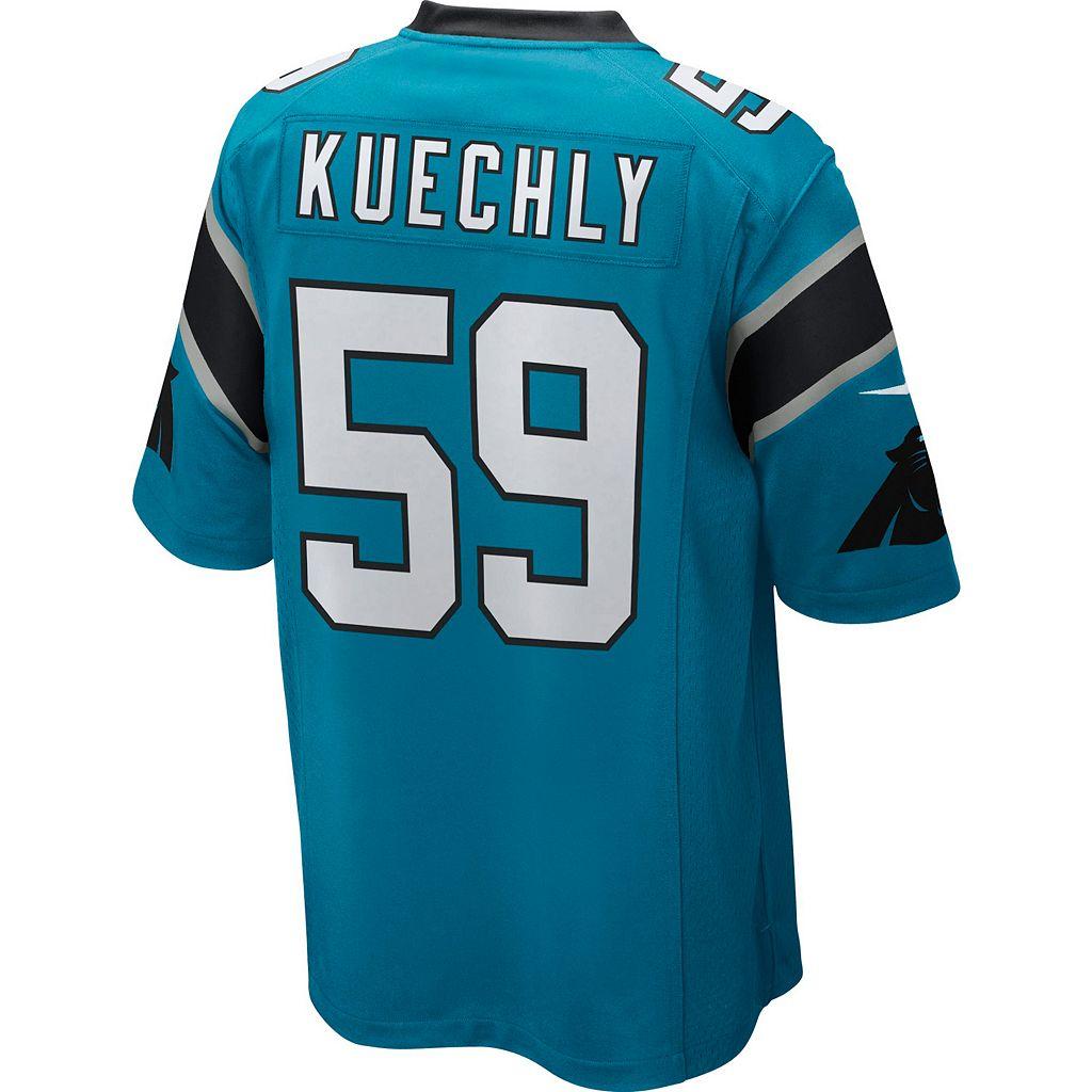 Men's Nike Carolina Panthers Luke Kuechly Replica Jersey