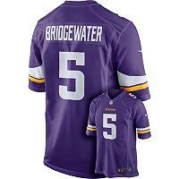 Men's Nike Minnesota Vikings Teddy Bridgewater NFL Replica Jersey