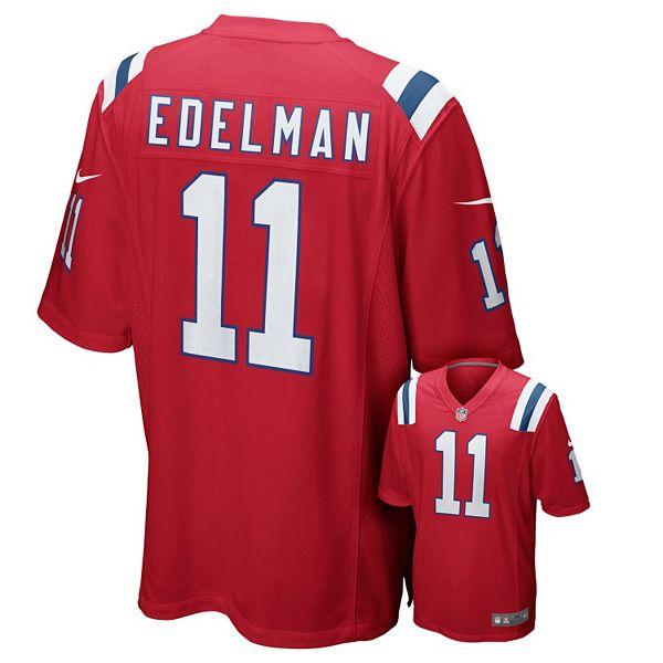 Men's Nike New England Patriots Julian Edelman Game NFL ...