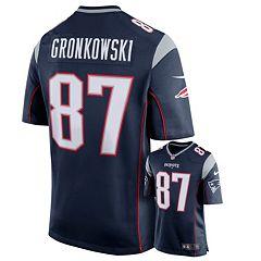 Men's Nike New EnglandPatriots Rob Gronkowski Game NFL Replica Jersey