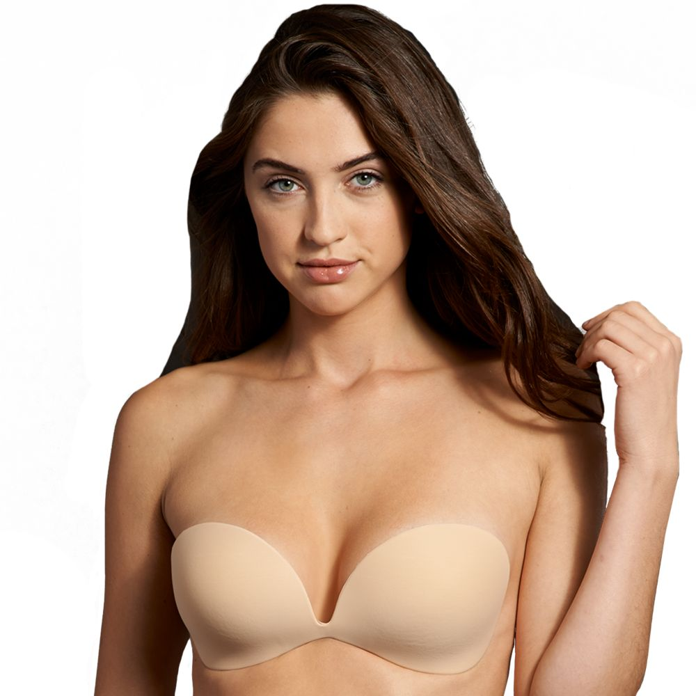 Bra: Invisible Adhesive Backless Strapless Bra M2289