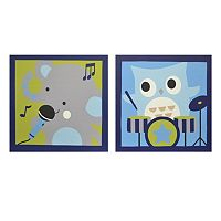 Belle Jungle Jamboree 2-pk. Wall Art