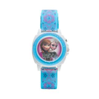 Disney Frozen Anna and Elsa Kids' Sound Digital Watch
