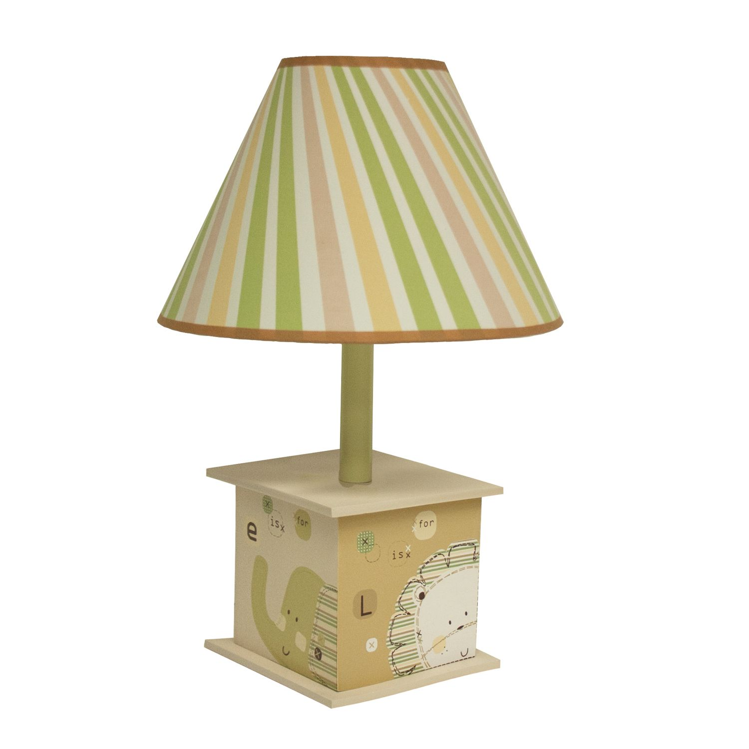 Natureu0027s Purest Sleepy Safari Table Lamp