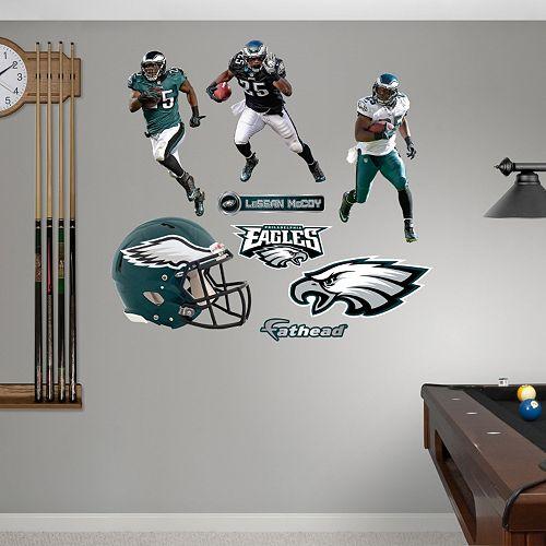 Philadelphia Eagles LeSean McCoy Hero Pack Wall Decals by Fathead