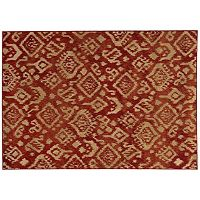 StyleHaven Emma Abstract Tribal Ikat Rug