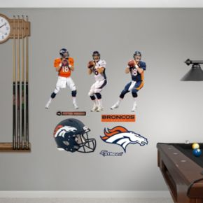 Denver Broncos Peyton Manning Hero Pack Wall Decals by Fathead