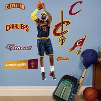 Cleveland Cavaliers LeBron James Wall Decals by Fathead Jr.