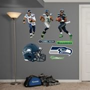 Seattle Seahawks Russell Wilson Hero Pack Wall Decals by Fathead