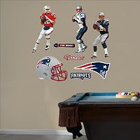 New England Patriots Tom Brady Hero Pack Wall Decals by Fathead