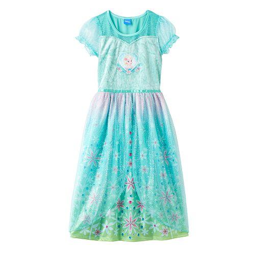 Disney's Frozen Fever Elsa Dress-Up Nightgown - Girls 4-10
