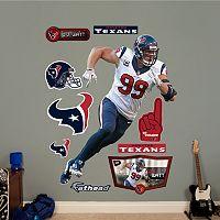 Houston Texans J.J. Watt Defensive End Wall Decals by Fathead