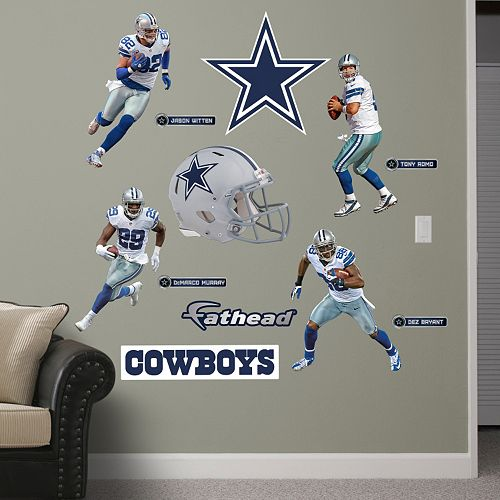 Dallas Cowboys Power Pack Wall Decals by Fathead