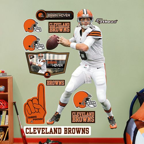 Cleveland Browns Brian Hoyer Wall Decals by Fathead